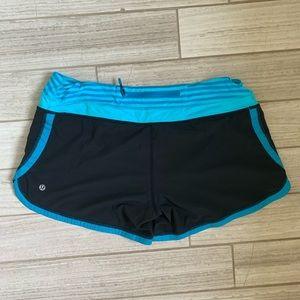 NWOT💙Lululemon women's athletic shorts